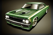 002 1966 Chevelle Brauns Motorsports Fabricated Chassis