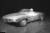 001 1959 Chevrolet Corvette Xp719 Concept Front Three Quarter