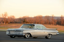 011 1959 Impala Chevrolet Silver 348 409 Injection