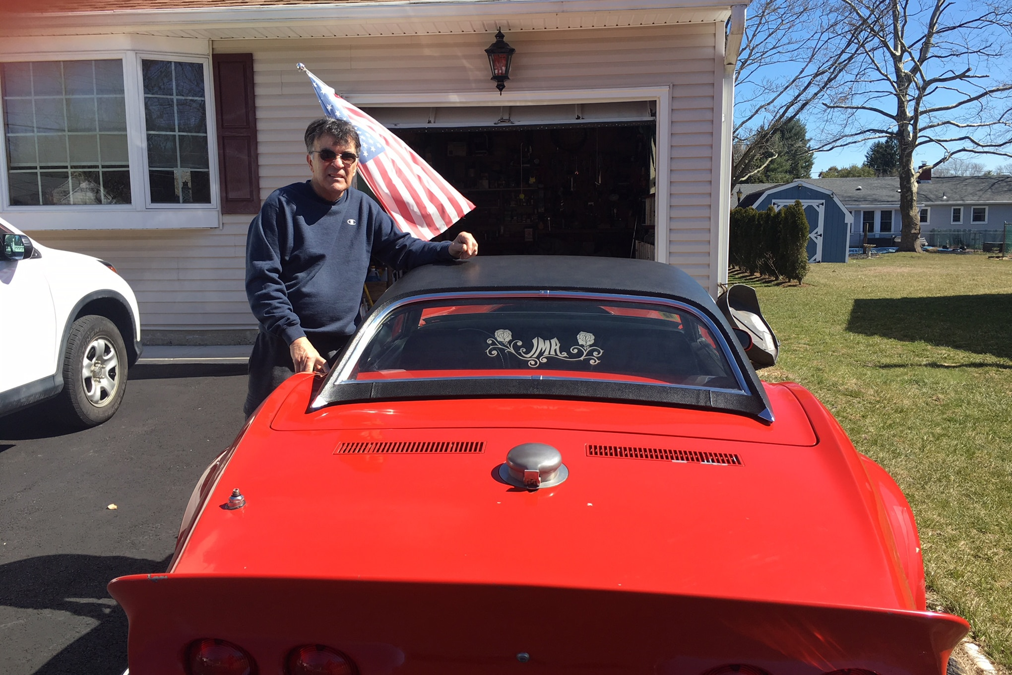 Vietnam Vet Modified 1969 Corvette Stored Over 40 Years