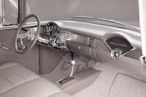 05 1955 Chevrolet 210 Sedan Post Bugjaski Interior