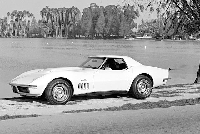 001 1969 Chevrolet Corvette Convertible L88 Front Three Quarter Lead