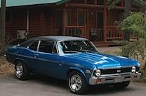 001 1971 Chevrolet Nova Front Three Quarter