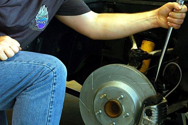 1995 C4 Corvette Disc Brakes Restoration 001 Lead