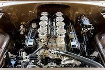 1955 Chevy Bel Air Custom Lopez Elegance Brown 050