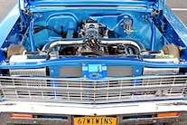 1967 Pro Street Nova Twin Turbo Blue 035