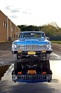 1967 Pro Street Nova Twin Turbo Blue 031