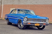 1967 Pro Street Nova Twin Turbo Blue 029