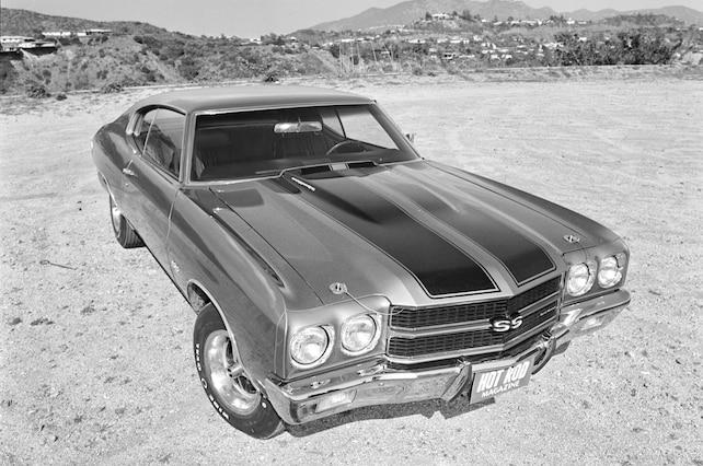 54 1970 Chevelle Malibu Front View