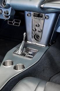 1959 Corvette C1 Ls Frost Blue Metallic Paint 022