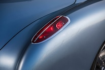 1959 Corvette C1 Ls Frost Blue Metallic Paint 009