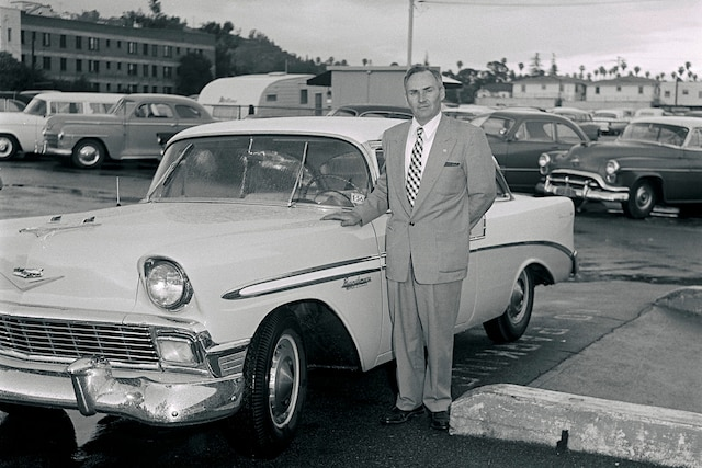 Archive Bandimere 1956 Chevrolet Bel Air With Owner