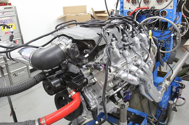 007 Lt1 Engine Dyno