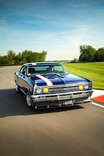 1967 Chevelle HRCC Pro Touring Blue Sema Lsa 057