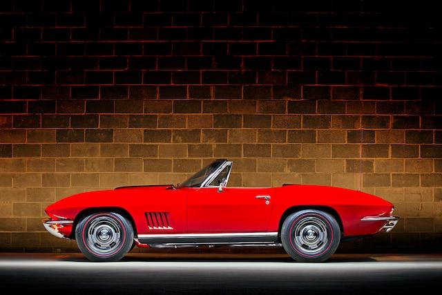 01 1967 Corvette Convertible 427 Big Block Tri Power