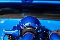 011 1968 Camaro SEMA Blue Procharger LS Baer