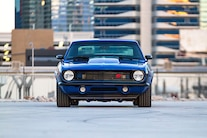 001 1968 Camaro SEMA Blue Procharger LS Baer