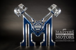JE Pistons Unveils Masters of Motors Competition at SEMA