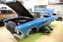 001 1966 Chevelle SB4 Mercury Racing Roadster Shop Blue