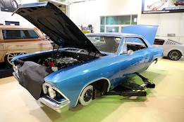 Roadster Shop-built 1966 Chevrolet Chevelle with DOHC LS Power and Fast Track Chassis