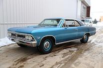 002 1966 Chevelle SB4 Mercury Racing Roadster Shop Blue