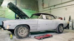 First Gen Camaro Restoration - '69 Camaro SS Blocking And