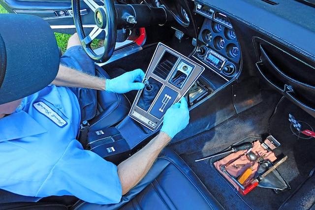 01 Corvette Interior Repairs Insullation
