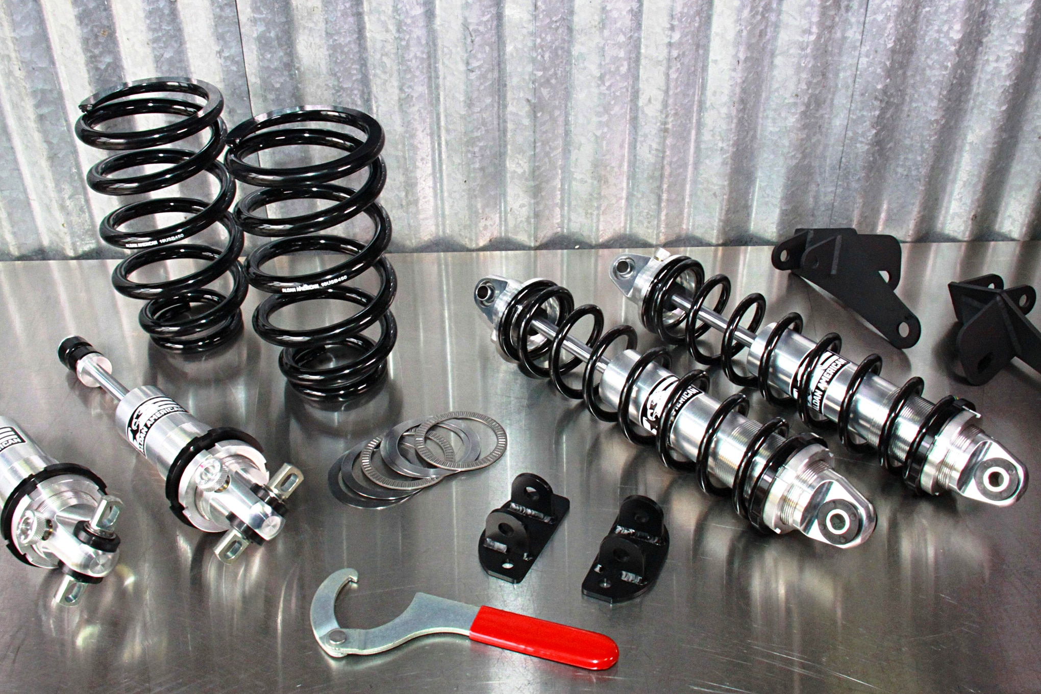001 Aldan American El Camino Suspension Upgrade