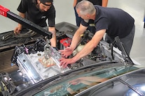 Week To Wicked 1987 Monte Day 2 Engine Install 022