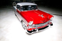 1956 Pro Street Chevy Red White Two Tone 024