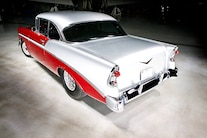 1956 Pro Street Chevy Red White Two Tone 023