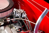 1956 Pro Street Chevy Red White Two Tone 012