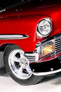 1956 Pro Street Chevy Red White Two Tone 005