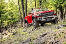 Buffalo Tough Chevy Colorado ZR2 Bison Off-Roads in Luxury