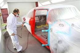 Our 1956 Chevy project gets some color!