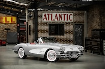 1 1958 Chevy Corvette Front Side View