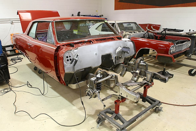 A stock 1964 Chevelle SS gets a modern makeover at Roadster Shop
