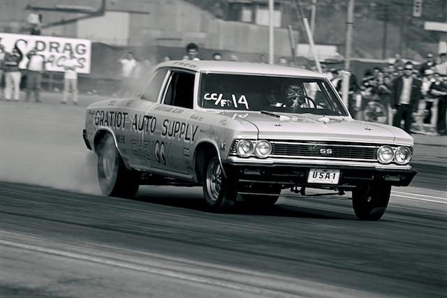 002 Archive Rupp 1966 Chevrolet Chevelle Chevoom Burnout