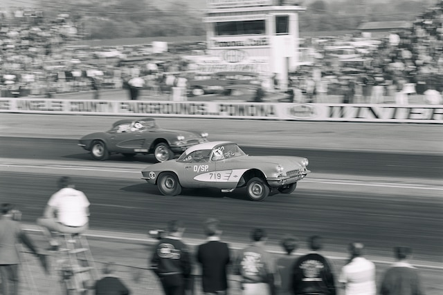 001 Archive Lilly 1961 Chevrolet Corvette 1966 Nhra Winternationals Racing