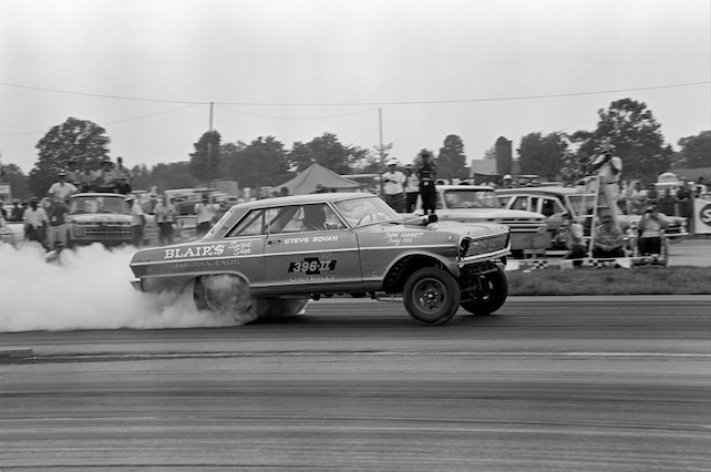 Bovan Blairs 1965 Chevrolet Chevy II Indy Nationals Action