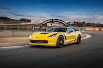 2016 Chevrolet Corvette Z06 Z07 Front Three Quarters In Motion 02