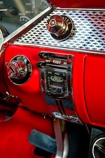 030 1955 Chevy Woodys Giveaway Raffle TMI Black Red LS Holley
