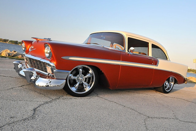 001 1956 Chevy LS Custom Bel Air