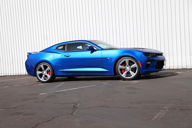 Factory Suspension and Brake Upgrade on a 2018 Camaro SS
