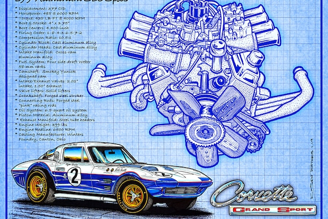 01 Aluminum Corvette Small Block Chevy 377 Inches