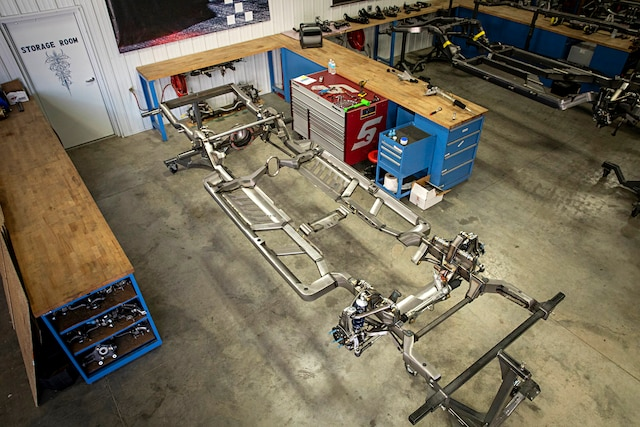 068 1971 Chevelle Wagon Roadster Shop Fast Track Chassis Build