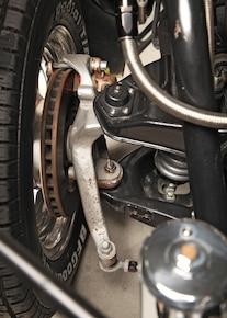 29 1972 Pro Street Vega Front Spindle