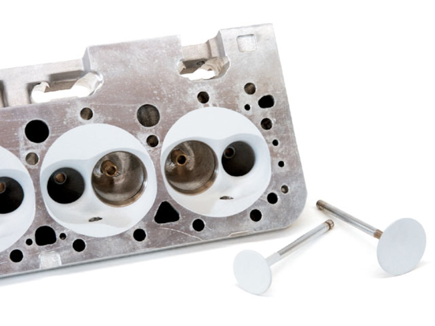 Performance Chevy Cylinder Head Comparison - Super Chevy