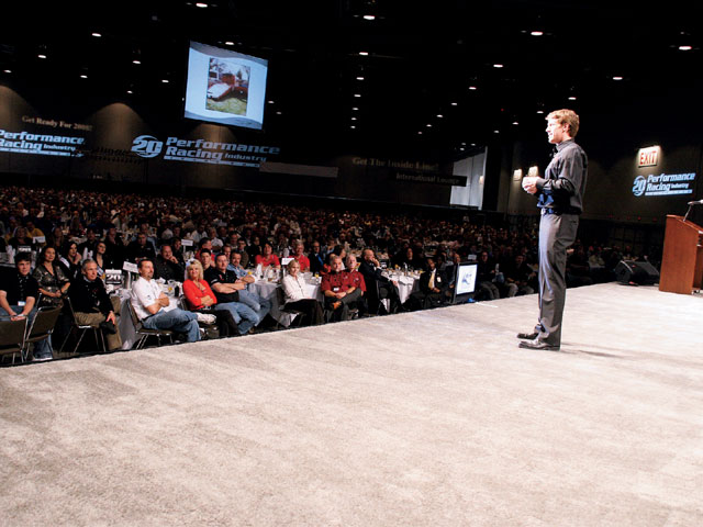 Sucp_0804_03_z Performance_racing_industry_trade_show Guest_speaker_carl_edwards