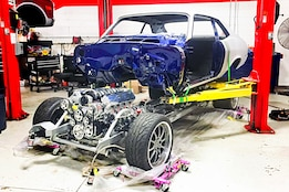 A 1972 Chevy Nova project that is turning up the heat!